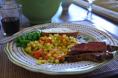 Summer Flank Steak Dinner