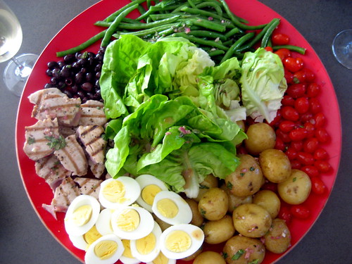 jenn's beautiful niçoise salad
