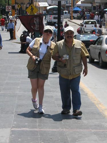 Papa e hija fotografos