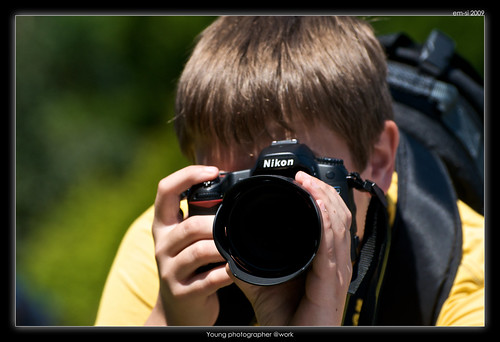 Young photographer @work