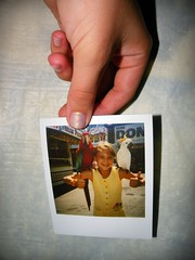 156/365 (ALOHAEMILY) Tags: 30 polaroid holding child hand little 365 parrots secrets lolemily