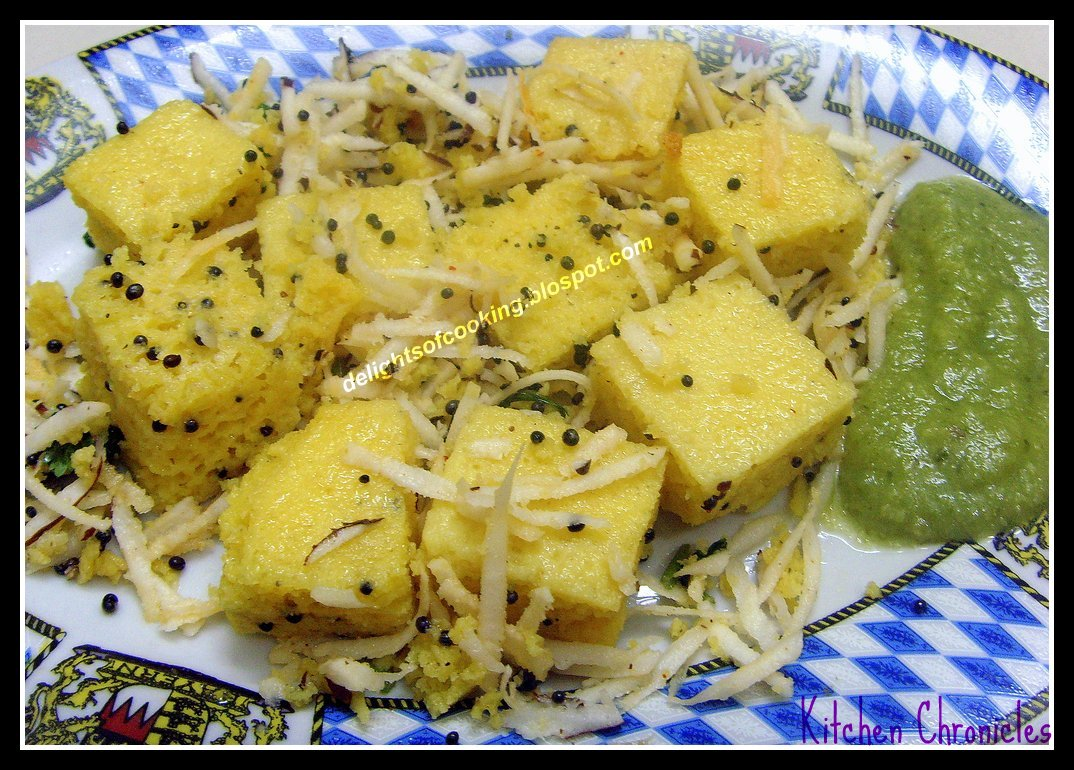 images of dhokla