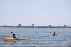 Kayaking in Canarsie, Brooklyn