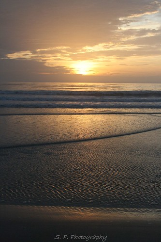 Sunrise on Daytona Beach