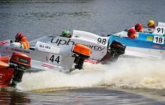 (Kaspars Butlers) Tags: water championship speedboat engine jelgava lielupe