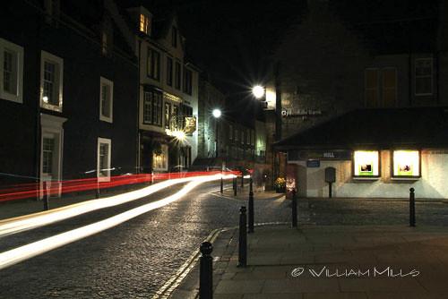 Headlights and Cobblestones