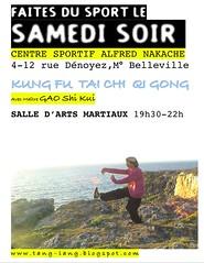 SPORT LE SAMEDI SOIR !