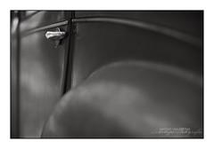 Citron 2CV Backdoor (Vincent_AF) Tags: door old blackandwhite bw france detail classic car vintage blackwhite citroen vincent rusty citron 2cv weathered flickrphoto citron2cv frensh flickrimage deuxchevauxvapeur flickrphotography twosteamhorses vincentvanderpas archetypefotografie