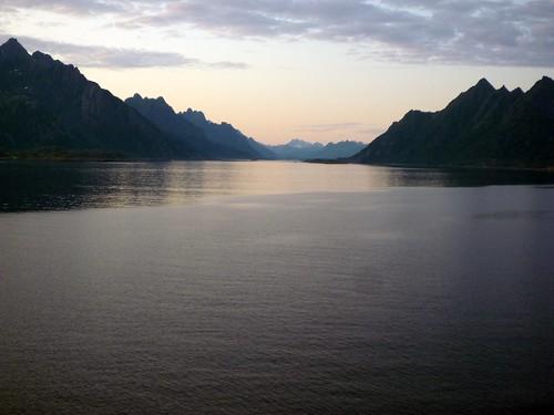 la calma del fiord