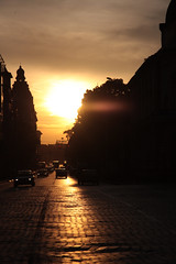 Tramonto sofianico (bellimarco) Tags: auto road sunset color car strada tramonto sofia bulgaria marco belli juventus inzaghi