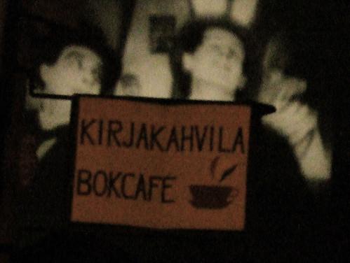 Book cafe of Turku