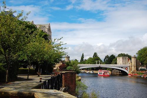 Yorkboat, River Ouse & Lendal Bridge