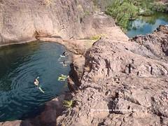 Morning Swim (kezzajohnson) Tags: creek river waterfall surprise np reynolds litchfield tolmer xr400 wr450f dr650 finniss te510