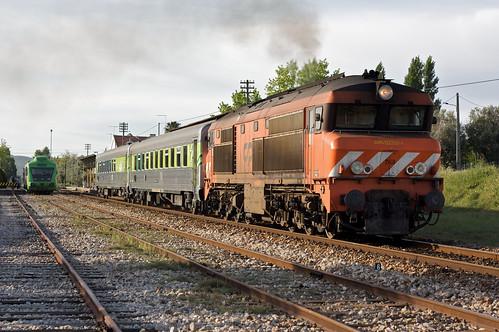 IC 590, Estação de Vila Nova da Baronia, 2009.04.05
