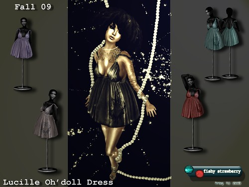 Lucille Oh'doll Dress Ad