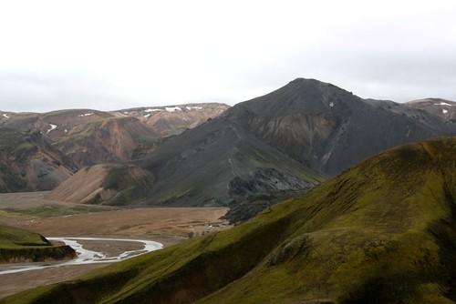 Looking into Landmannalaugar