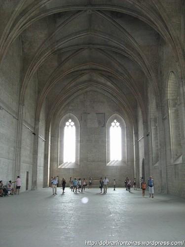 Palácio dos Papas em Avignon, França