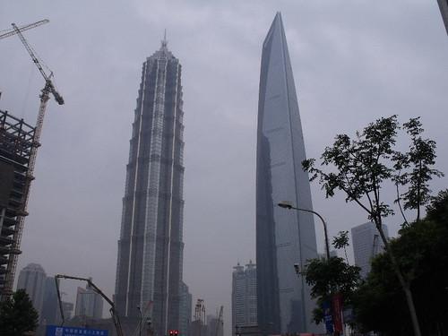 金茂大厦与上海国际金融中心
