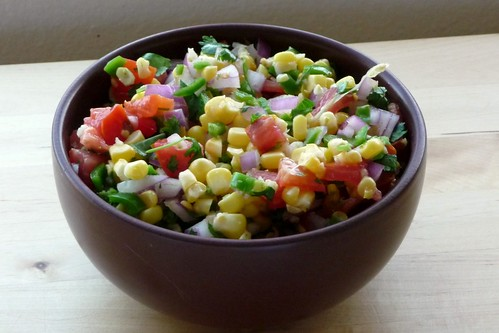 Roasted Corn and Tomato Salsa | The Kitchen Mouse