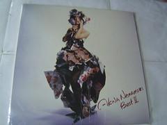 原裝絕版 1989年 1月1日 中森明菜 AKINA NAKAMORI BEST II LP 黑膠唱片 原價  2800YEN 中古品