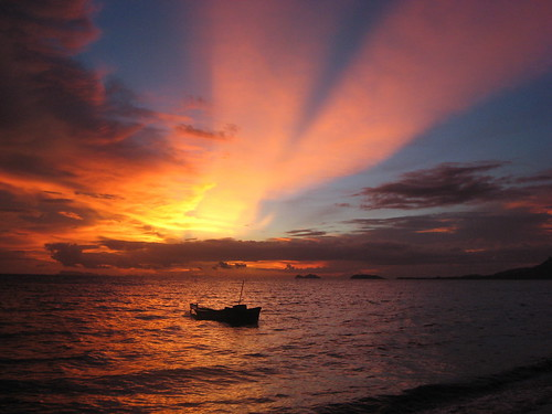 Koh Phangan sunset 1