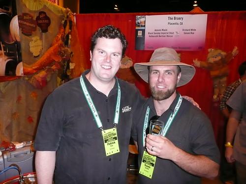 Patrick Rue & Travis Smith, from The Bruery