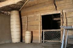 Wikingercontainer im Haus der Händler [3] in Haithabu 05-08-2009