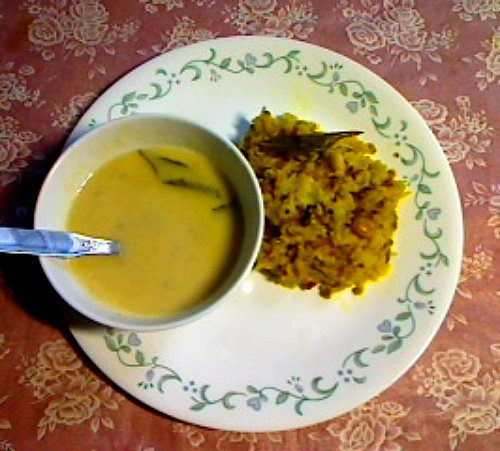 Khichadi and Kadhi