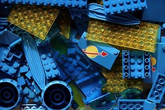 Space! (Chiefrocker9000) Tags: blue lego space cs legoclassicspace transyellow yayforclassicspace