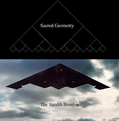 Stealth Bomber and Sacred Geometry