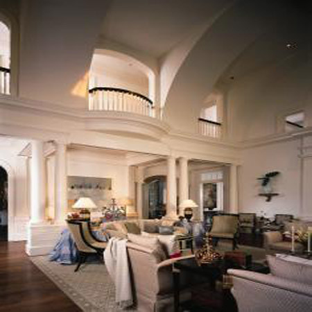 Grand and gracious - House Design - Living Room, Architectur, Classic Home, Interior design