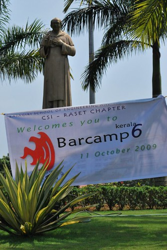 Barcamp6 at Rajgiri college
