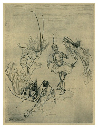 029-Sir Rupert de Fearless una leyenda alemana-The Ingoldsby legends 1907-illustrations Rackham Arthur