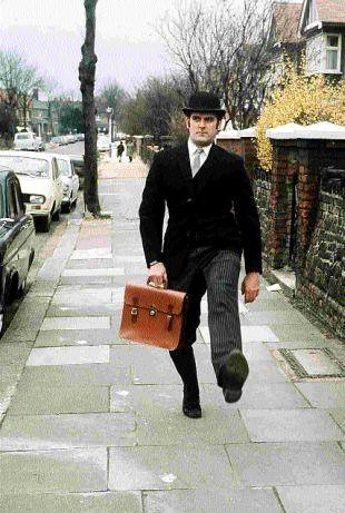 John Cleese in The Ministry of Funny Walks