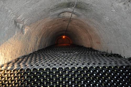 Lugares donde descansa el champagne