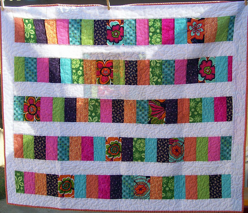 coin quilt front