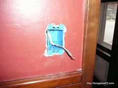 new kitchen light switch box