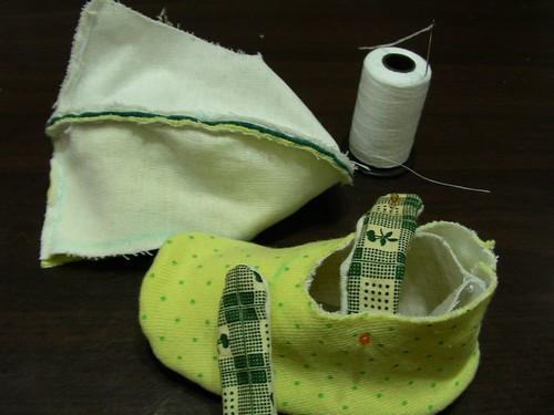 貝貝小黃鞋-製作過程