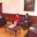 La Embajadora de Estados Unidos en Ecuador, Heather Hodges, fue recibida por el presidente de la Asamblea Nacional, Fernando Cordero. En la cita estuvieron presentes el señor Sergio Guzmán, de la Agencia de los Estados Unidos para el Desarrollo Internacio