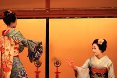 maiko dance (miss_millions) Tags: japan dance kyoto maiko   gion gioncenter