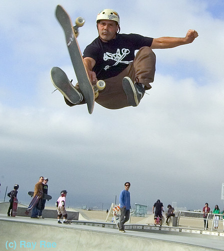 Venice Skate Park Photo of the Week by Ray Rae Goldman