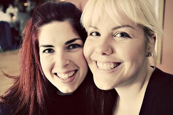 Andrea and Amanda