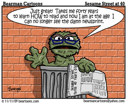 40Th Birthday Cartoons http://www.readinstyle.com/vibrantviews/11/sesame-street-turns-40/