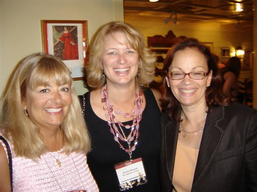 with Jill Marie Landis and my beloved literary agent, Andrea Cirillo