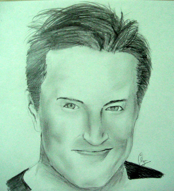 matthew perry portrait by SaGaR PuRo