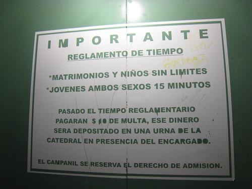 Mirador de San Juan, el cartel