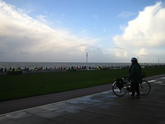 Joyce on Hove prom and 10k race