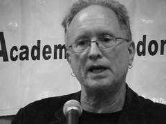 Dr. Bill Ayers (19) (Travelin' Librarian) Tags: bw billayers afcon
