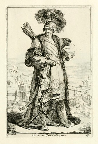 012- Guardia del Gran Señor-Caravanne du sultan ala Mecque…1748- Joseph Vien
