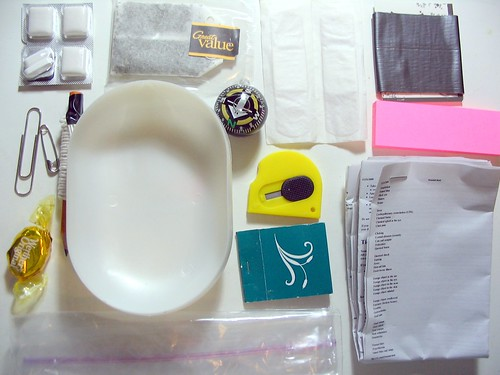 Survival Kit In A Soap Dish - Contents